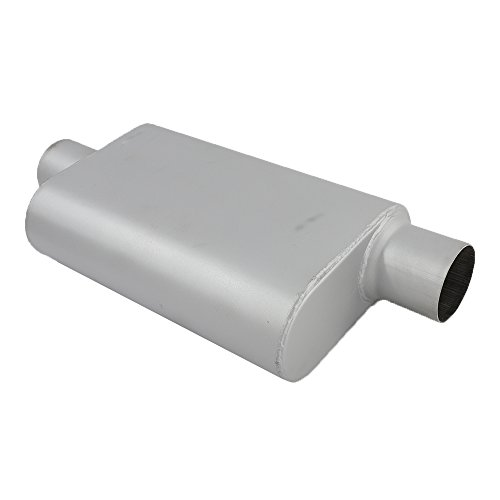 MILLION PARTS Universal Oval Racing Muffler Silencer 3