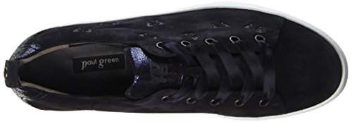 Paul Green 4538011, Scarpe stringate donna Blau (Blue)