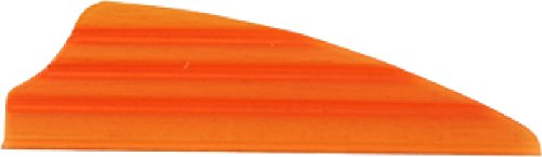 36 - Pk  Norway 2 inch Zeon Fusion Vanes, ORANGE