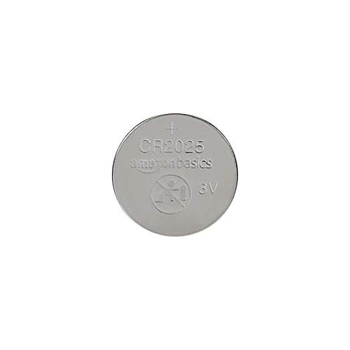 AmazonBasics CR2025 Lithium Coin Cell - Pack of 2 (Wristwatch 2015)