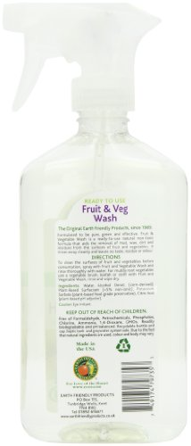Earth Friendly Products Fruit & Vegetable Wash, 17-Ounce Bottle (Pack of 6) by Earth Friendly Products (Image #3)