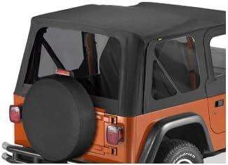 Bestop 58121-35 Black Diamond Tinted Window Kit Replace-A-Top for 1997-2002 Wrangler