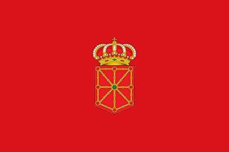 Durabol Gran Bandera de Navarra 150 x 90 cm Satin: Amazon.es: Deportes y aire libre