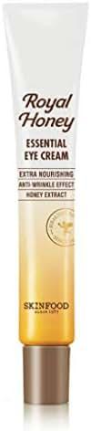SKIN FOOD Royal Honey Essential Eye Cream 1.01 fl.oz - Anti Aging and Moisturizing Fermented Honey Contained Eye Treatment Cream, Nourishing and Anti-Wrinkle Care