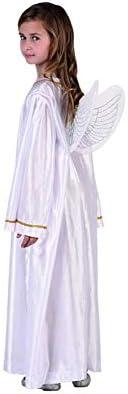 Oferta amazon: Atosa-32163 Atosa-32163-Disfraz Angel Unisex Infantil-Talla Navidad, Color Blanco, 10 a 12 años (32163)