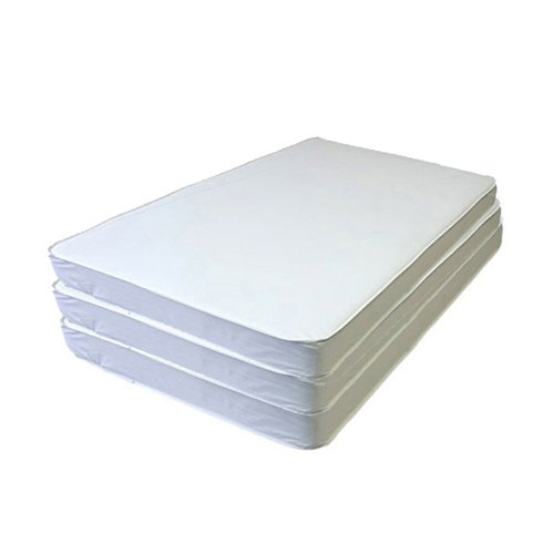 bkb Daycare 6 Piece Cradle Mattresses, 17'' x 31'' x 2''