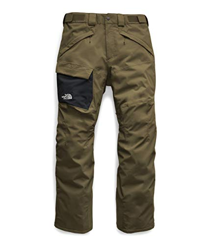 The North Face Men's Freedom Pant, Military Olive, M (Pants Mens Snowboard Green)