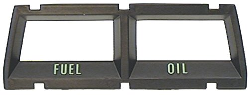 Auto Metal Direct Console Gauge Fuel & Oil Bezel - 68-69 Camaro