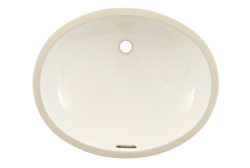 19' Undermount Sink (TOTO Lt597G#11 Dantesca Undercounter sanagloss Lavatory, Colonial White)