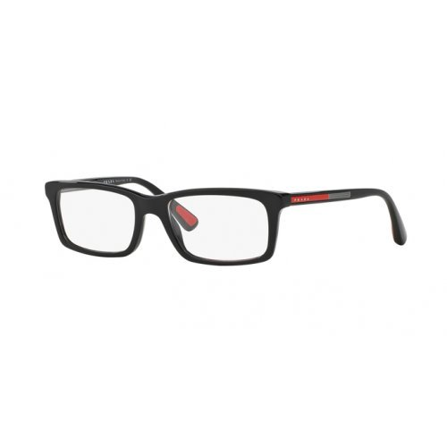 Eyeglasses Frames Prada - Prada PS02CV 1AB1O1 Men's Eyeglasses, Black,
