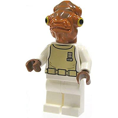 Lego Star Wars Mini Figure - Admiral Ackbar (Approximately 45mm / 1.8 Inch Tall): Toys & Games
