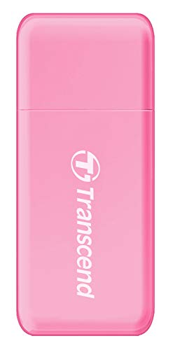 Transcend TS-RDF5R USB 3.0 SDHC/SDXC/microSDHC/SDXC Card Reader, (Pink)