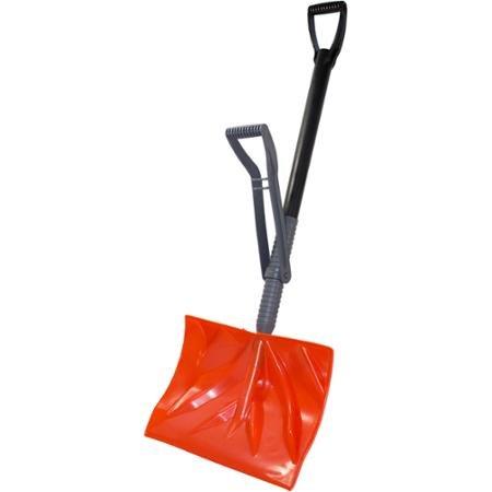 Emsco 1397-1 - Power Lift Snow Thrower - 18'' Snodozer Snow Shovel With Adjustable Ergonomic Lifetime Handle - Orange