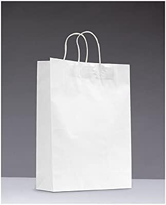 16 x color trenzado papel partido botín bolsas de regalo con ...