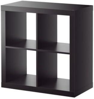 Ikea Negro estantería, librería, Perfecto para cestas o Cajas ...