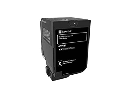 Lexmark 84C2HKE Laser Cartridge Negro tóner y Cartucho láser ...