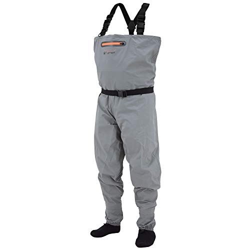(Frogg Toggs 2711136-LG Canyon Ii Sf Wader, Gray, Large)