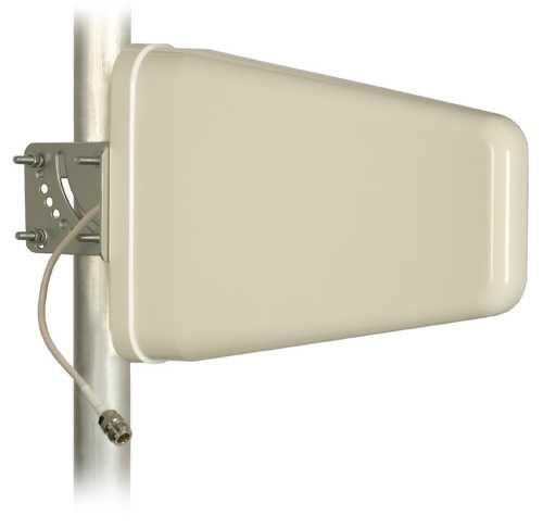 Antenne Danitech Richtfunk LOG fü r LTE GSM UMTS 9-12 dB Nf