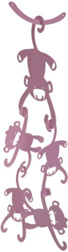 (Lambs & Ivy Ceiling Sculpture, Pink Monkey Color: Pink Monkey NewBorn, Kid, Child, Childern, Infant,)