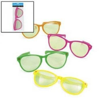 Plastic Jumbo Sunglasses (1 dozen) - Bulk - Sunglasses Solution