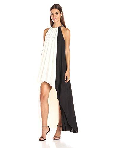 halston-heritage-womens-sleeveless-high-neck-pleated-hi-low-dress-chalk-black-medium