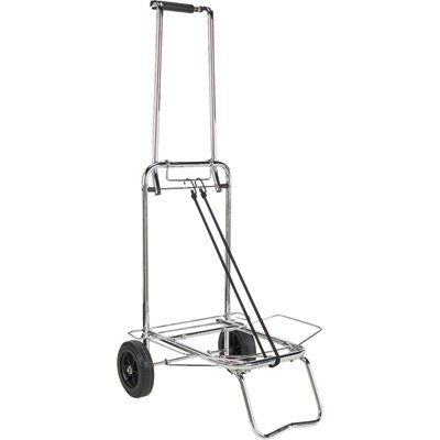Folding Hand Truck, Utility Cart Opens To 38' Tall, And Includes Bungee Cord Utility Cart Opens To 38 Tall ToolUsa