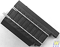 Life-Like Trains Power-Link  HO Scale Track - Adapter, Steel