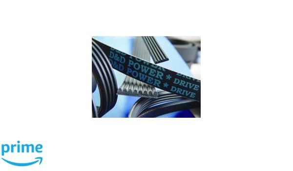 D/&D PowerDrive 310J4 Poly V Belt