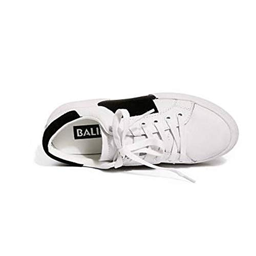 ZHZNVX Zapatos de Mujer Nappa Cuero Primavera/Verano Comfort Sneakers Creepers Cerrado Dedo del pie Blanco White