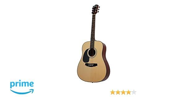 EAGLETONE RIVERSIDE LH MADERA NATURAL Guitarras acústicas Guitarras folk para zurdos: Amazon.es: Instrumentos musicales