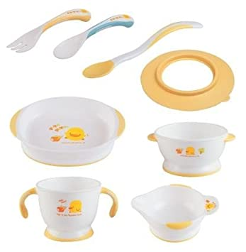 First Steps Baby Feeding Set Plate Bowl Baby