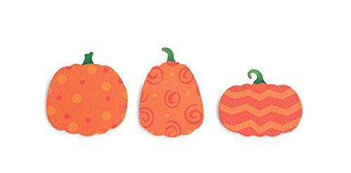 Embellish Your Story Patterned Pumpkins Magnets - Set of 3 Assorted