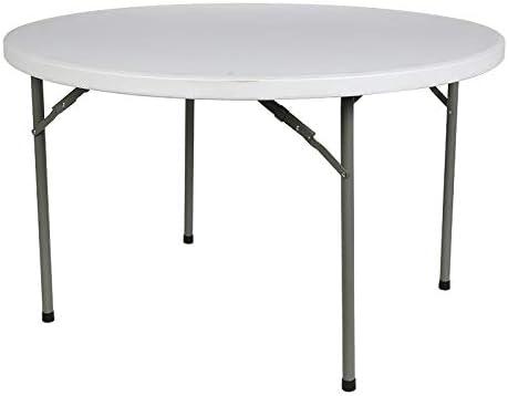 Tavolo Rotondo Per Esterno.Tavolo Rotondo Pieghevole Per Esterno Tavolo Familiare Bianco