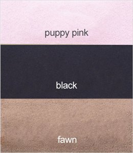 Ultrasuede Tinkie Dog Harness for Small Dogs by Susan Lanci Designs (XXS (up to 10'' Girth), Puppy Pink)