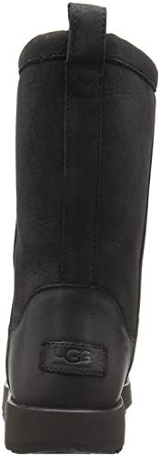 Australia Black Classic Leather Waterproof Short Ugg Womens Boots 0Rxn8wd
