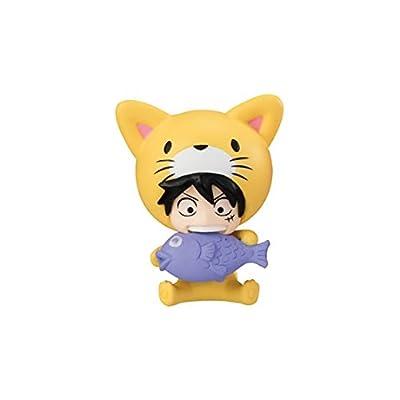 One piece Desktop Mascot Mini Figure~Nyan piece~Cat Monkey D Luffy
