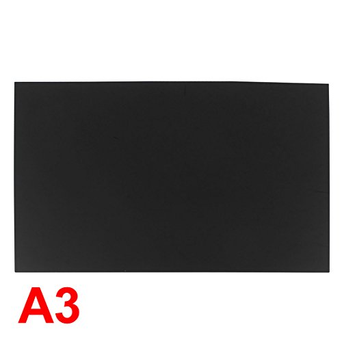 68 Black Plastic Acrylic Plexiglas Sheet A3 Size 297 mm x 420 mm x 2 mm (Plexiglas Acrylic Sheet)