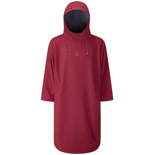 (Fourth Element Storm All Weather Poncho Burgundy X-Small)