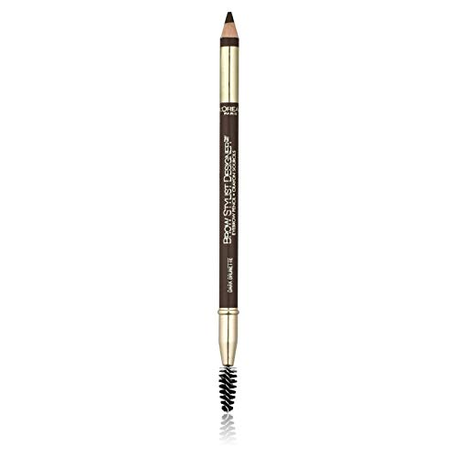 L'Oreal Paris Brow Stylist Designer Eyebrow Pencil, Dark Brunette [315] 0.045 oz (Pack of 6)