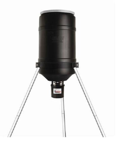 AMERICAN HUNTER 225 Lb Tripod Feeder with Digital R-Kit Pro and Varmint Buster