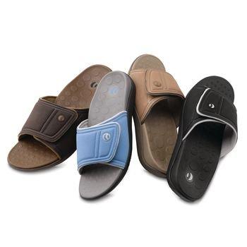 89f71e92f783 Image Unavailable. Image not available for. Color  Sammons Preston Orthaheel  Unisex Kiwi Adjustable Slide Sandals ...