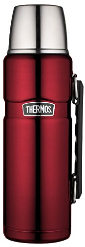 (Thermos Stainless King 40 Ounce Beverage Bottle, Cranberry )