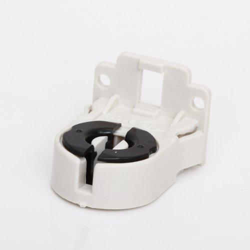 Price comparison product image SmartDealsPro 10-Pack Screw-Type T8 Fluorescent Light Socket Lamp Holder