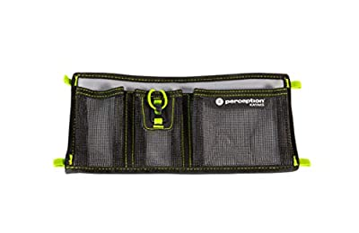 8080041 Perception Kayak Splash Three Pocket Organizer - for Kayaks, Grey by Confluence Accessories