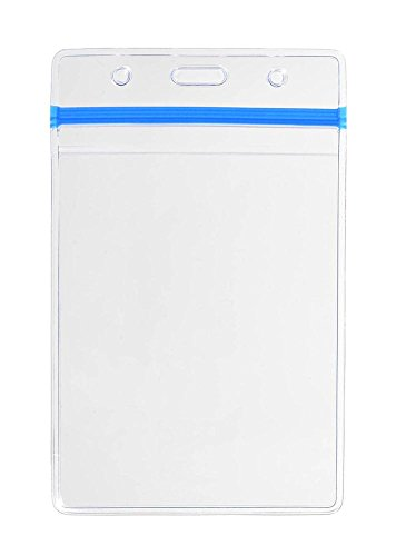 10-pack-4x3-heavy-duty-id-card-badge-holder-clear-vertical-with-blue-resealable-zipper-waterproof-st