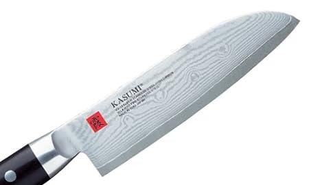Compra Kasumi - KD-84013 - Cuchillo Santoku damasco, 13 cms ...