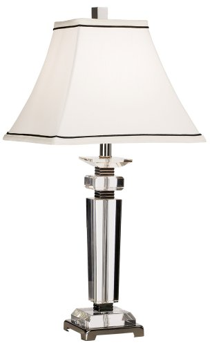 - Vienna Full Spectrum Square Crystal Column Table Lamp