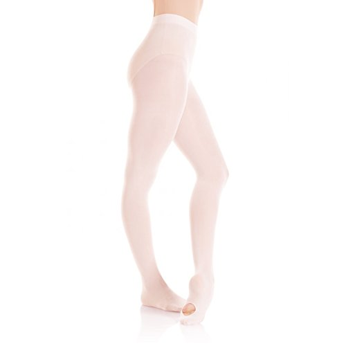 MONDOR CONVERTIBLE FOOTED ULTRA SOFT TIGHTS (BALERINA, 10-14) by Mondor