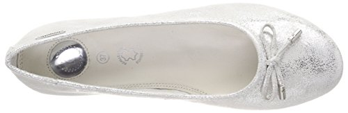 Bugatti 421431603900, Ballerines Femme Blanc (Offwhite/ Silver)