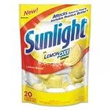 C-Sunlight Pwdr Auto Dish 20Oz Lmn 6